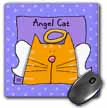 click on Angel Orange Tabby Cat Cute Cartoon Pet Loss Memorial  to enlarge!