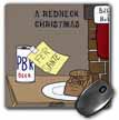 click on A redneck christmas eve Santa snack including beer and jerky to enlarge!