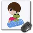 click on Boy Frog and Sleeping Bag to enlarge!