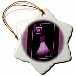 click on Purple dress and rose surrounded by damask ribbons and frame to enlarge!