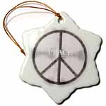 click on Sixties Silver Metal Peace Symbol to enlarge!