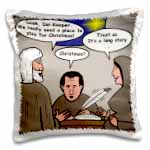 click on Rich Diesslin Cartoon about Joseph and Mary at the Inn to enlarge!