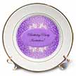 click on Purple and White Birthday Invitations to enlarge!
