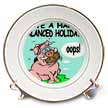click on Ira Monroes Pig Eating a Fruitcake to enlarge!