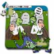 click on Halloween - Zombie Practical Jokes - Clinton and Nixon Masks to enlarge!