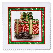 3dRose - Susan Brown Designs Holiday Christmas - Red Christmas Cookie Jar - Quilt Squares at Sears.com