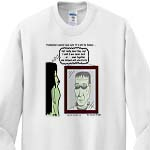 click on Halloween - Frankenstein is Not a Zombie to enlarge!