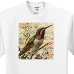 click on Vintage Hummingbird 2 Digital Art by Angelandspot to enlarge!