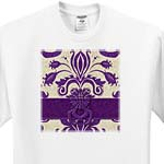 click on Damask Purple and Taupe to enlarge!