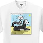 click on The Great Egyptian Stinks - Skunk Sphinx to enlarge!