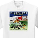 click on Band is not a sport to enlarge!