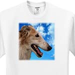 click on Borzoi Portrait to enlarge!