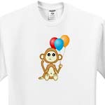 click on Birthday Balloons Baby Monkey to enlarge!