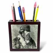 3dRose - Danita Delimont - Engravings - Peter Simon PALLAS, German naturalist. Engraving - HI13 PRI0386 - Prisma - Tile Pen Holders at Sears.com