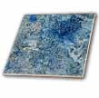 click on Blue Glitter Abstract Painting to enlarge!