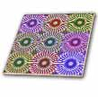 click on Colorful Medallions Abstract by Angelandspot to enlarge!