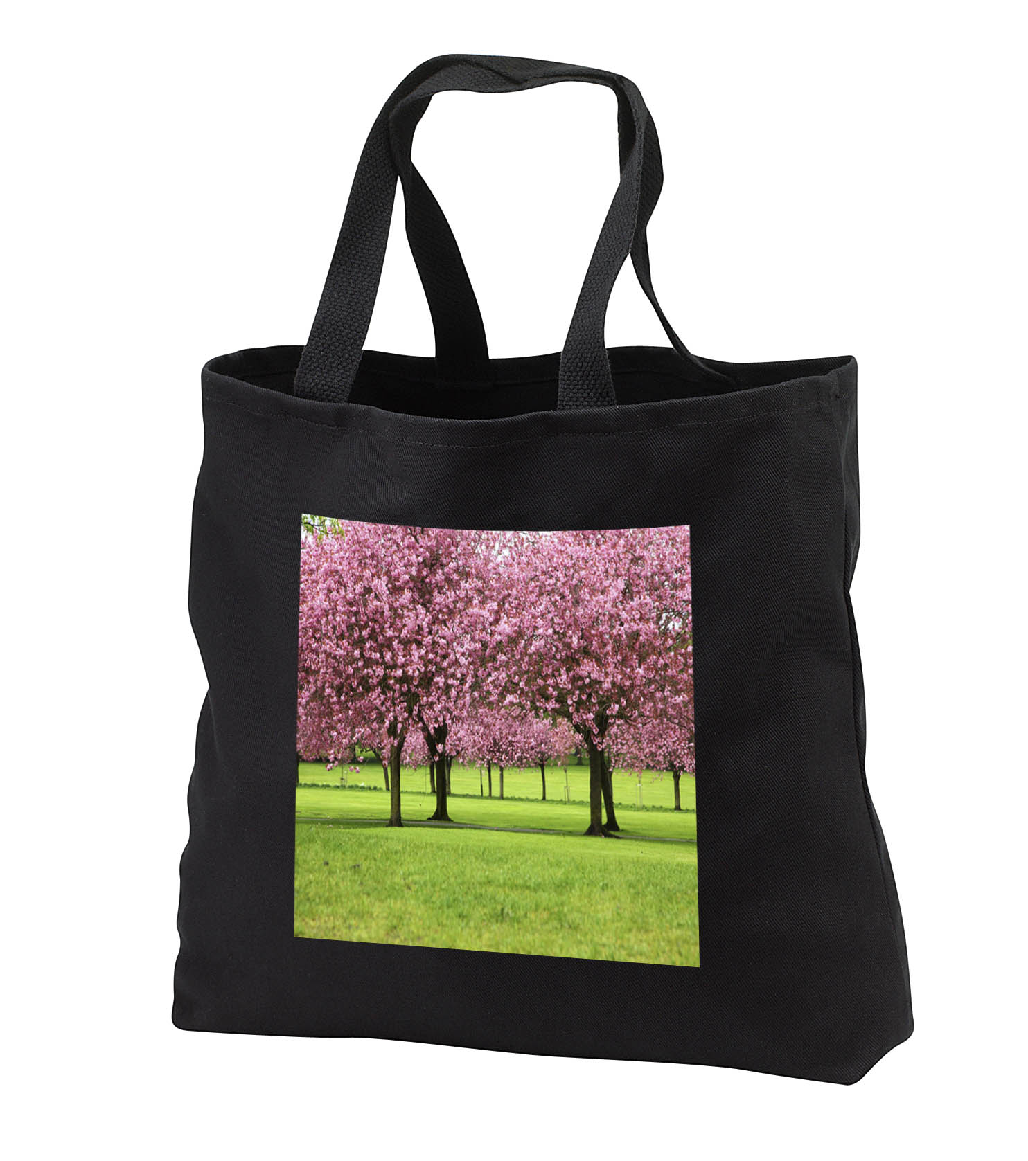 3dRose - Florene America The Beautiful - Cherry Blossoms In Wash DC - Tote Bags