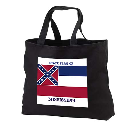 click on State Flag of Mississippi (PD-US) to enlarge!