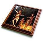 click on Fire Leap Pagan Bonfire Magic Witchcraft Witch 3D to enlarge!