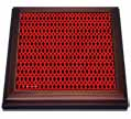click on Black And Red Diamond Weave Geometric Pattern Textile to enlarge!