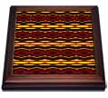 click on Fyre Trybe Tribal Retro Geometric Pattern Abstract Textile to enlarge!