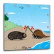 click on Porcupine Meets Horseshoe Crab - love at first sight to enlarge!