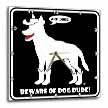 click on BEWARE OF DOG DUDE black sign 1 to enlarge!