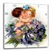 click on Vintage Young Cupid Kids with Flowers to enlarge!