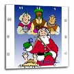 click on Larry Miller - Tribute to the Baby Jesus by the 3 Wisemen and Santa to enlarge!